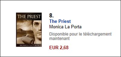 Numero 8 in Francia singolo