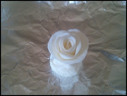 The finished rose