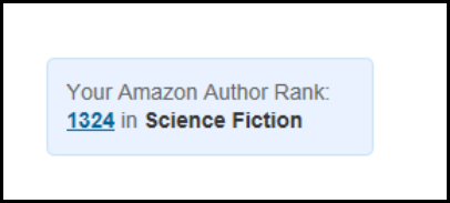 October Amazon Author Rank