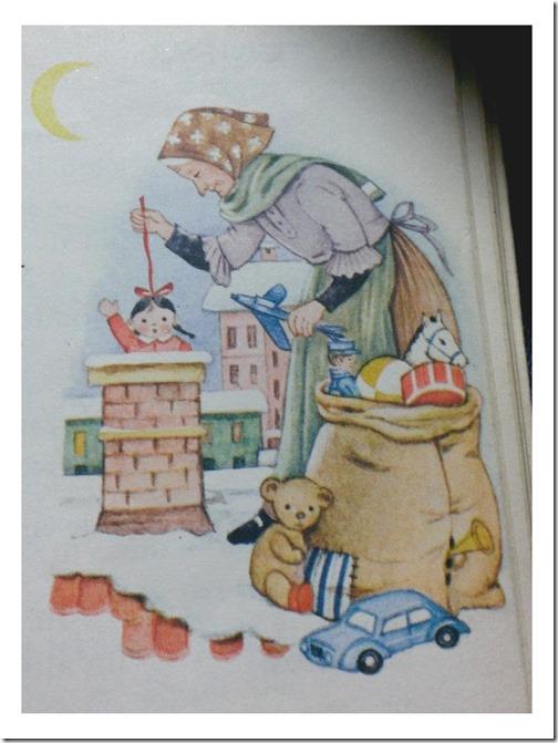 Disegno della Befana Libro Elementari
