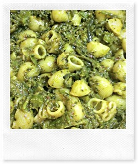 Ragout di Broccoletti Close Up
