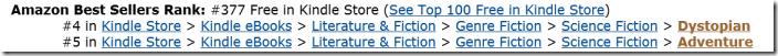 #4 e #5 Amazon.com Settembre 2013
