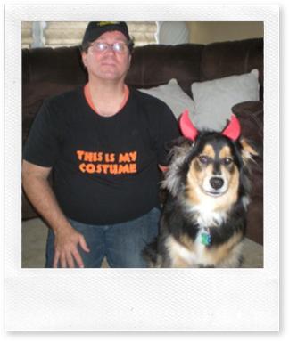 Dan Fiorella and puppy
