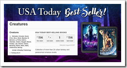 USA TODAY Bestseller Banner